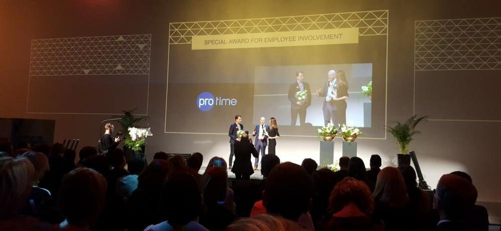 Protime bij Uitreiking Great Place To Work 2017