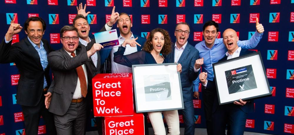 Protime Great Place To Work Belgium 2019