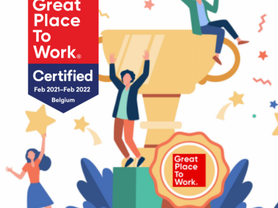 Protime Great Place To Work certified feb 2021- feb 2022